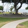 It's a nice little park.- Makalei Beach Park