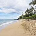Decent sized beach at Makalei Beach Park.- Makalei Beach Park