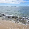 The beach at Makalei Beach Park.- Makalei Beach Park