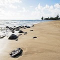 Kalae'O'iO Beach.- Kalae'O'iO Beach Park