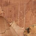 The Fruita Petroglyph Panel.- The Fruita Petroglyphs