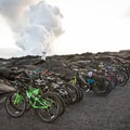 It is possible and popular to enter from the west and bike into the park.- Lava Flow Hike via Chain of Craters Road