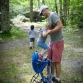 The Little River Trail in Great Smoky Mountains National Park is an ideal hike for families.- Little River Trail