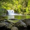 Abrams Falls, Great Smoky Mountain National Park.- Abrams Falls Trail