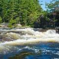 The Beaverator Hole is remarkably sticky- Beaver River: Taylorville Stretch