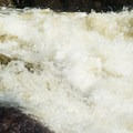 The final tier of Moshier Falls hosts a very turbulent hole.- Beaver River: The Spillway to Moshier Falls