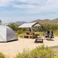 Tent camping at Cave Creek.- Cave Creek Campground