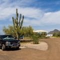 Cave Creek Campground.- Cave Creek Campground
