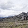 Views of Hellroaring Mountain.- Coyote Creek Trail