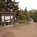 The Hellroaring Trailhead.- Coyote Creek Trail