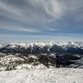Looking toward the Boulder Mountains.- Galena Summit