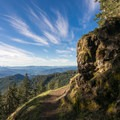 Overlooking the Willamette Valley from Tire Mountain.- Tire Mountain