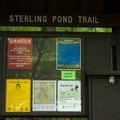 The trail register.- Sterling Pond