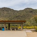 Group picnic area.- Cave Creek Regional Park