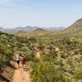Segment of the Go John Trail.- Cave Creek Regional Park