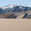 It's difficult to find an uninspiring place to camp within the dune field at Great Sand Dunes National Park and Preserve.- High Dune Loop