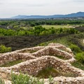 Looking south from the ruins.- Tuzigoot National Monument