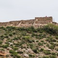 Tuzigoot ruins as seen from the road.- Tuzigoot National Monument