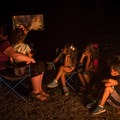 """Great Smoky Mountains National Park is known as the salamander capital of the world, making the Smoky Mountain story """"Salamander Ball"""" a perfect campfire story! - Cades Cove Campground"""