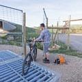 A cattle gate.- The Rail Trail