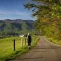 From mid-May until late September you can enjoy the Cades Cove Loop vehicle free. Walk it, run it, or bike it. - Cades Cove Loop