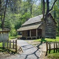 Take a trip back into time and step into a few of the cabins along the loop. - Cades Cove Loop