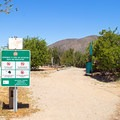The trailhead in Hellhole Canyon Preserve.- Horse Thief Loop + Historic Flume Trail