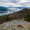French Point Mountain has excellent views on First Peak and Lake George.- Tongue Mountain Range