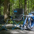 Bring the family, relax at the campsite, and explore the nearby hiking trails. - Cosby Campground