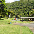Playground and public restrooms.- Moanalua Valley Neighborhood Park