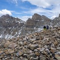 The incredible ruggedness of Great Basin National Park.- Wheeler Peak