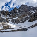 The impressive cirque below Wheeler and Jeff Davis peaks.- Wheeler Peak