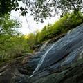 Waterfalls near Little Bearwallow Mountain.- Little Bearwallow Mountain