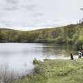 Nature lessons also take place at Upper Reservoir.- Black Rock Forest