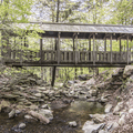 Mailey's Mill Bridge.- Black Rock Forest