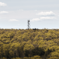 A radio tower (closed to public).- Black Rock Forest