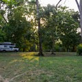 The camping area at Clarissa Falls Resort.- Clarissa Falls Resort
