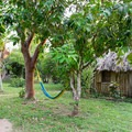 Relax in one of the many hammocks located around the property.- Clarissa Falls Resort