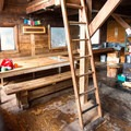 Inside Keith's Hut.- Mount Joffre via Cerise Creek