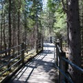 The aptly named Wooden Trail to High Falls.- Grand Portage State Park