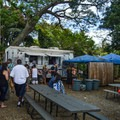 There are food trucks tucked off the main street. Check out the garlic shrimp! Lines are long!- Historic Hale'iwa Town