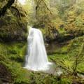 Spirit Falls.- Spirit Falls on Alex Creek