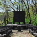 The campground amphitheater.- Governor Dodge State Park