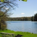Beautiful lakes.- Governor Dodge State Park