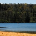 Canoeing, kayaking, and boating.- Governor Dodge State Park
