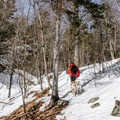 Microspikes can be useful in winter.- Boulder Loop Trail
