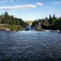 The view from above Kakabeka Falls.- Kakabeka Falls Provincial Park