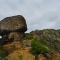Careful footing and wayfinding is required in some sections.- Koko Crater Rim Trail
