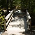 A bridge over the Pemi.- The Basin