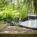 Deep Creek Campground.- Deep Creek Campground